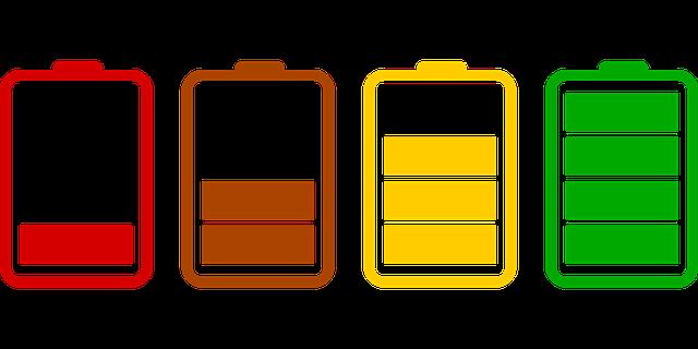 baterijos laikas